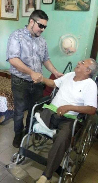 "Senadis asistió al músico ""Kamba' i"" Echeverría"