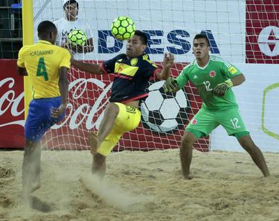 Brasil goleó sin piedad a Colombia y afianza liderazgo en su serie