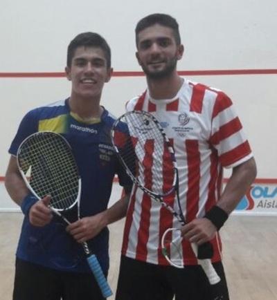 Sudamericano de squash se desarrolla en nuestro país