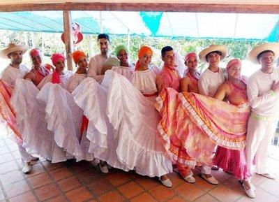 Danza colombiana se verá en Club El Mbiguá