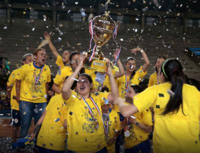 Libertadores femenina de Futsal, en Paraguay