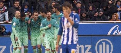 El Barcelona se da un festín ante el Alavés de Romero