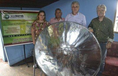 Donan novedosa cocina solar a un hogar de niños