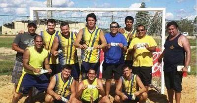 Exitoso primer Torneo de Hándbol de Playa