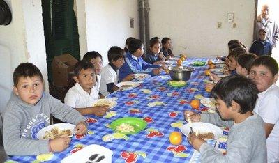 Prometen almuerzo desde el primer día de clases