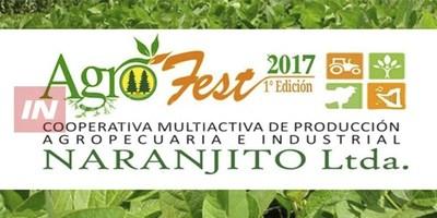 SE VIENE LA  PRIMERA EDICIÓN DE LA AGROFEST EN NARANJITO.