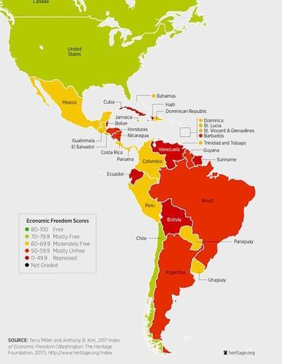 Paraguay con significativo ascenso en Libertad Económica