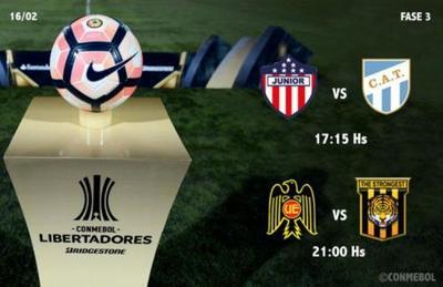 La Libertadores sigue con dos juegos