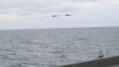 Cazas rusos sobrevuelan destructor de EE.UU. ubicado en el mar Negro