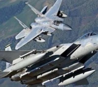 Dos F-15 interceptan avión que se acercó a la residencia de Trump