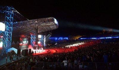 Vibrante festival en San Ber