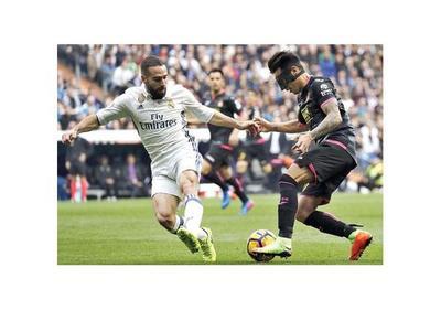 Pérez, en el Bernabéu