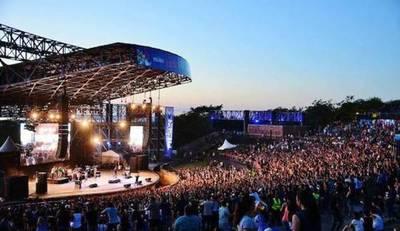 Unas 18 mil personas coparon el Anfiteatro de Sanber