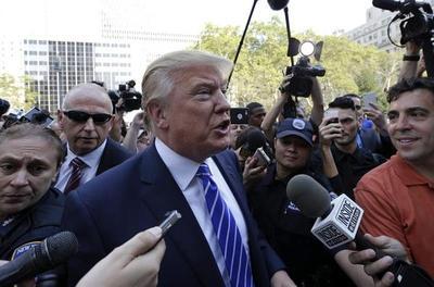 Reacciones en Washington a ataques del presidente Trump a la prensa