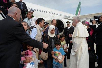 Los refugiados sirios del papa Francisco, un ejemplo de integración
