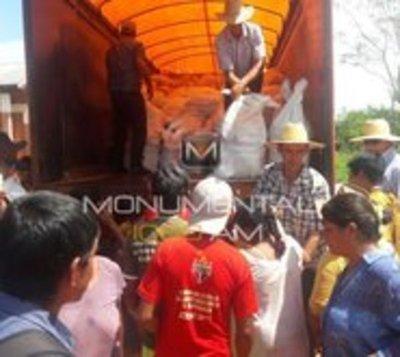Sigue en marcha entrega de víveres en Yasy Cañy
