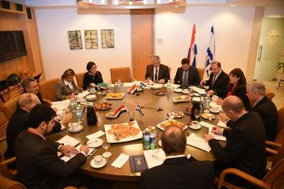 Paraguay e Israel abordaron temas económicos y culturales