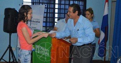 Becas en V. Elisa y formación en Itapúa