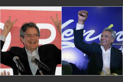 Moreno y Lasso se disputarán la presidencia de Ecuador