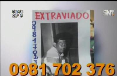 Buscan a persona desaparecida