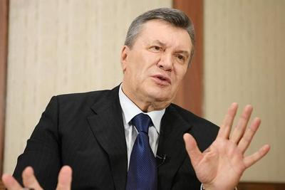 Yanukóvich exhorta a Trump a actuar por la paz en Ucrania