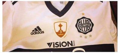 El logo especial que usará Olimpia en la Copa Libertadores