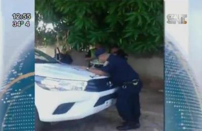 Confuso episodio se registra en barrera policial