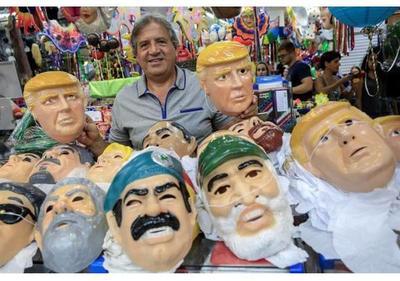 Trump se cuela en el carnaval brasileño