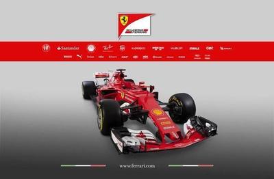 Ferrari presenta el nuevo monoplaza de Vettel y Raikkonen