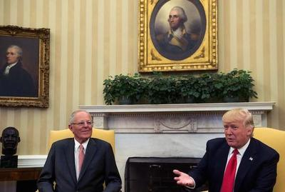 Trump y Kuczynski hablan sobre Venezuela