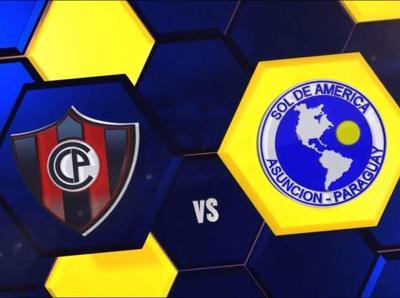 Cerro juega ante Sol de América en el Defensores
