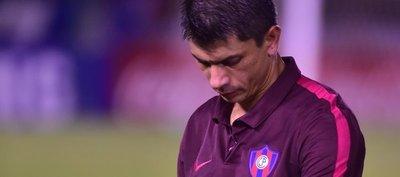 Gustavo Florentín lamenta la falta de rebeldía de su equipo