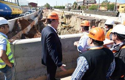 MOPC mantiene plazo para terminar superviaducto, que estaría en marzo