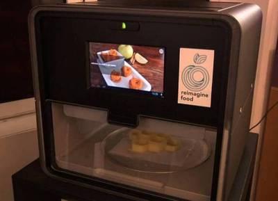 Para los chefs: Máquinas imprimen comidas en 3D