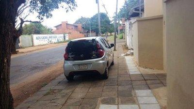 Vereda: Estacionamiento diario