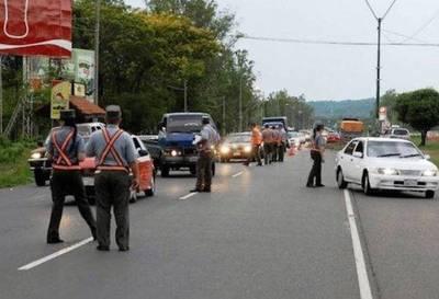 Más de 300 conductores dieron positivo al alcotest