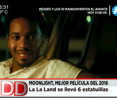 """Moonlight"" superó a ""La La Land"" como mejor película"