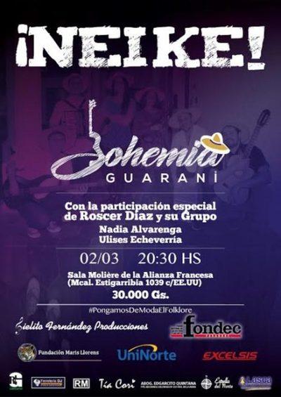 Bohemia Guaraní lanzará su primer material discográfico