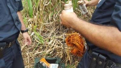 Hallan mochila con explosivos en Alto Paraná