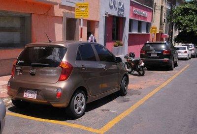 Estacionamiento tarifado comenzará a mitad de año