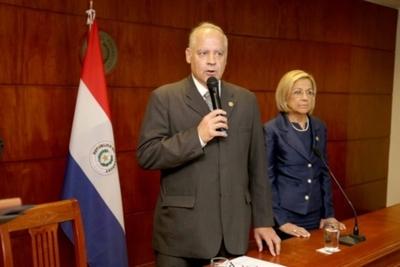 Benítez Riera asumió titularidad de la Corte y prometió una gestión transparente