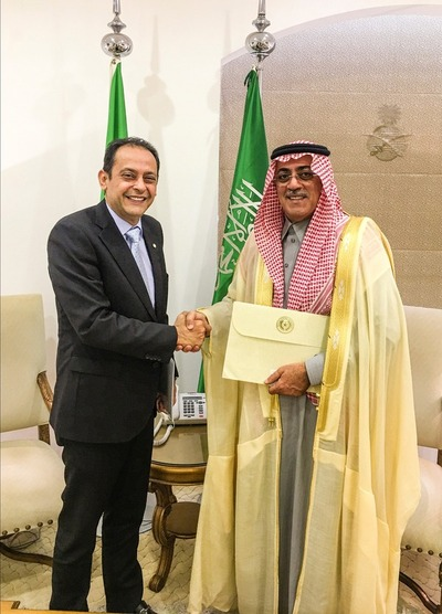 Paraguay acredita por primera vez embajador ante Arabia Saudita