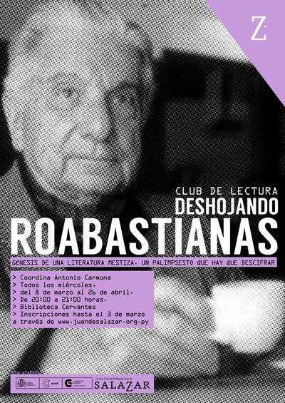 Club de lectura analizará obra de Roa Bastos