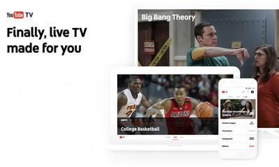 YouTube TV: el nuevo servicio de televisión en directo y vía streaming de Google es oficial