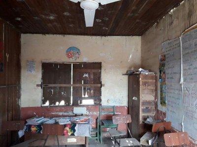 Exigen construcción de nueva escuela en Casado