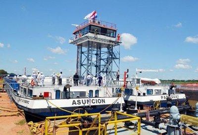 """Botan el mayor buque """"made in Paraguay"""""""
