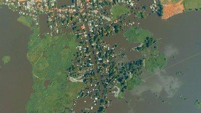 El Pantanal creció 350 mm más de lo esperado