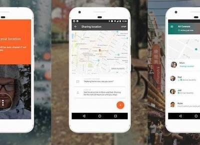 Google lanzó una app para compartir la ubicación con contactos en tiempo real
