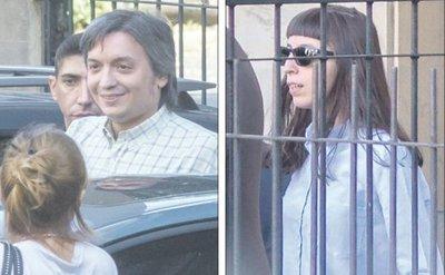 Hijos Kirchner declaran en caso de corrupción durante años de poder