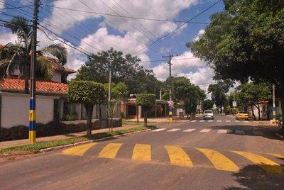 Ejecutan mejoras viales en Luque